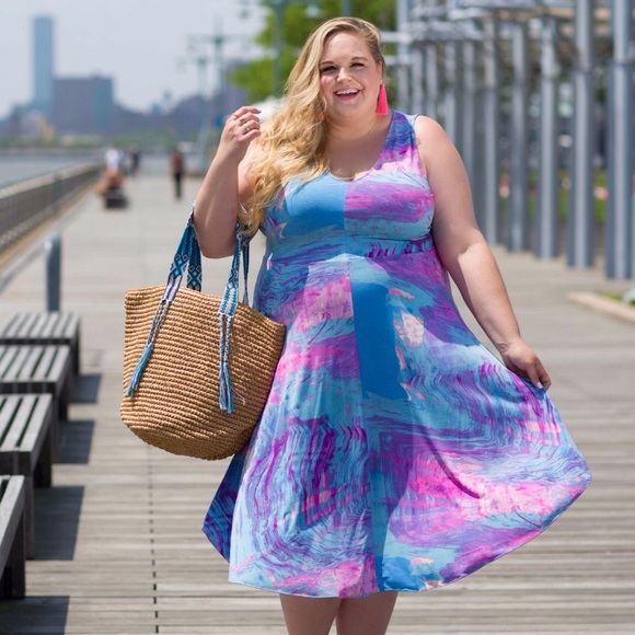 RACHEL Rachel Roy Dresses & Skirts - Printed Midi Dress